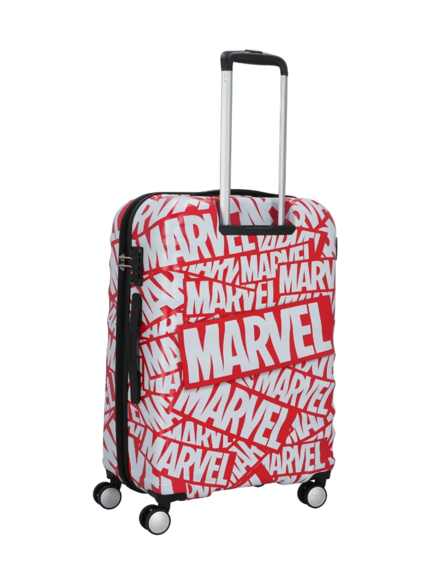 Trolley American Tourister 4 ruote 55 cm. Wavebreaker Disney Marvel Logo dettagli