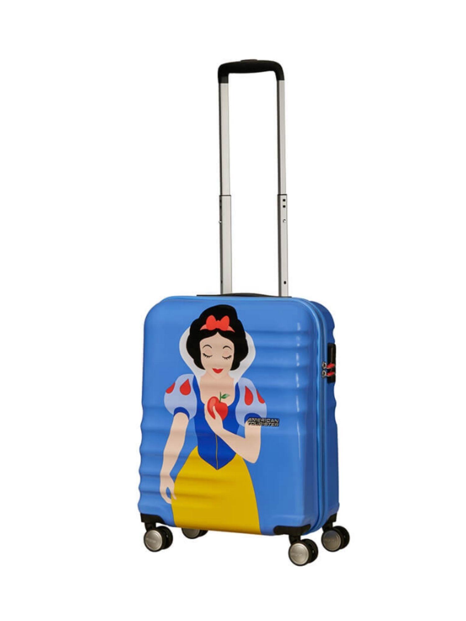 Trolley American Tourister 4 ruote 55 cm. Wavebreaker Disney Snow White aperta 2