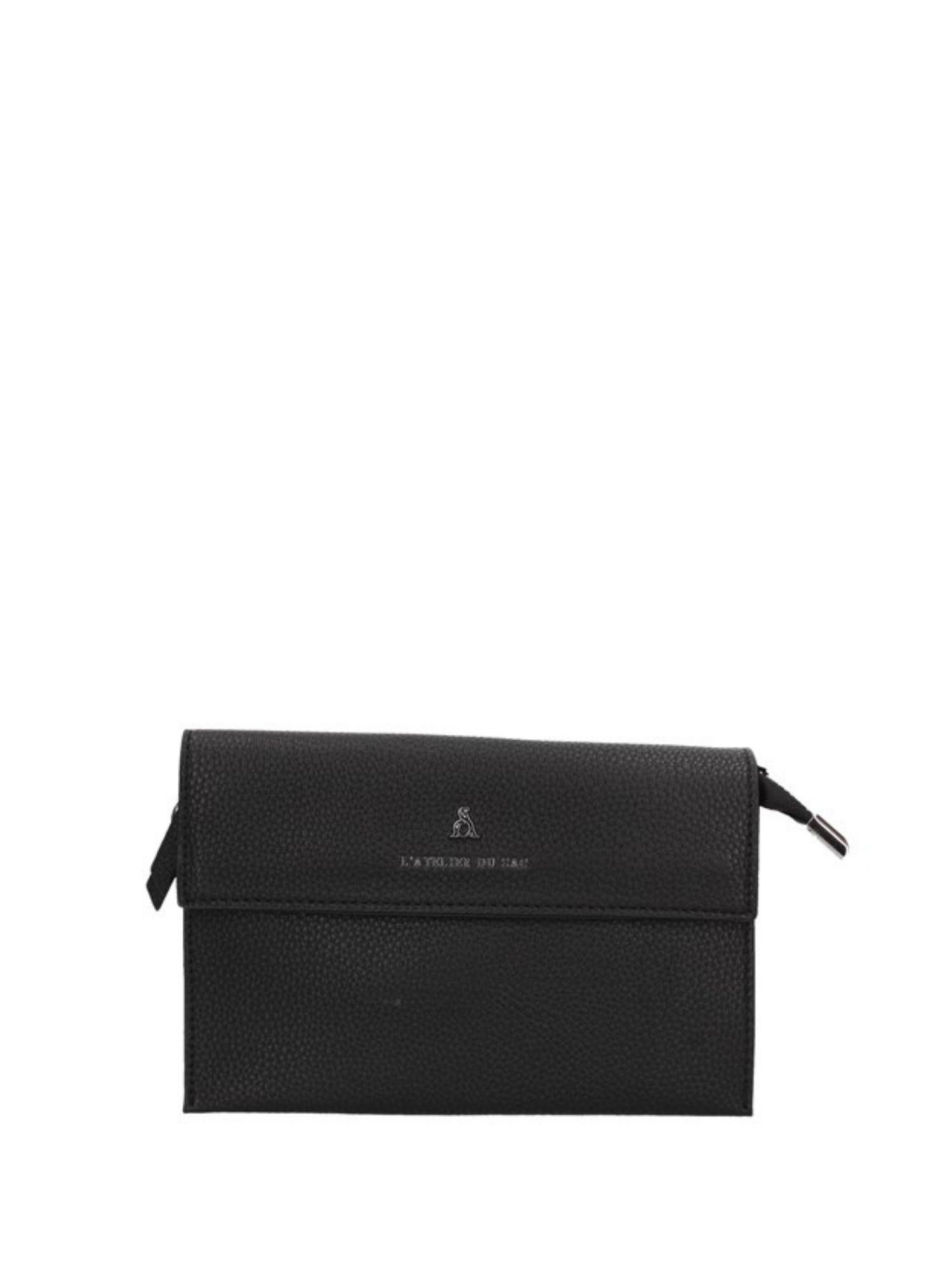 Borsa Atelier Du Sac Pash Bag 10819 Nero 1