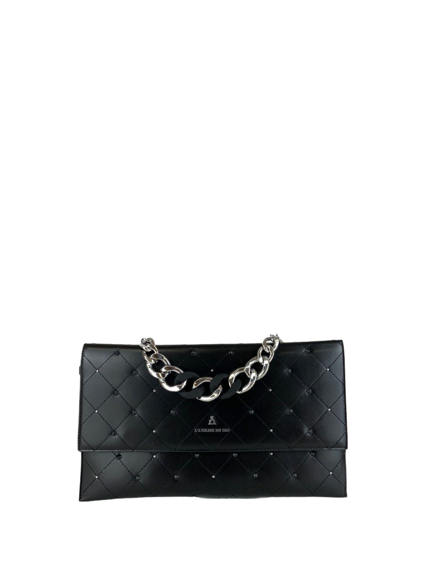 Borsa Atelier Du Sac Pash Bag 10957 Nero 3