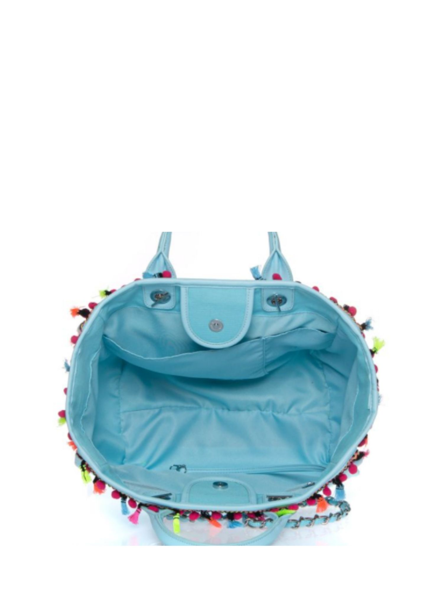 Borsa Atelier Du Sac Pash Bag 10999 Celeste 2