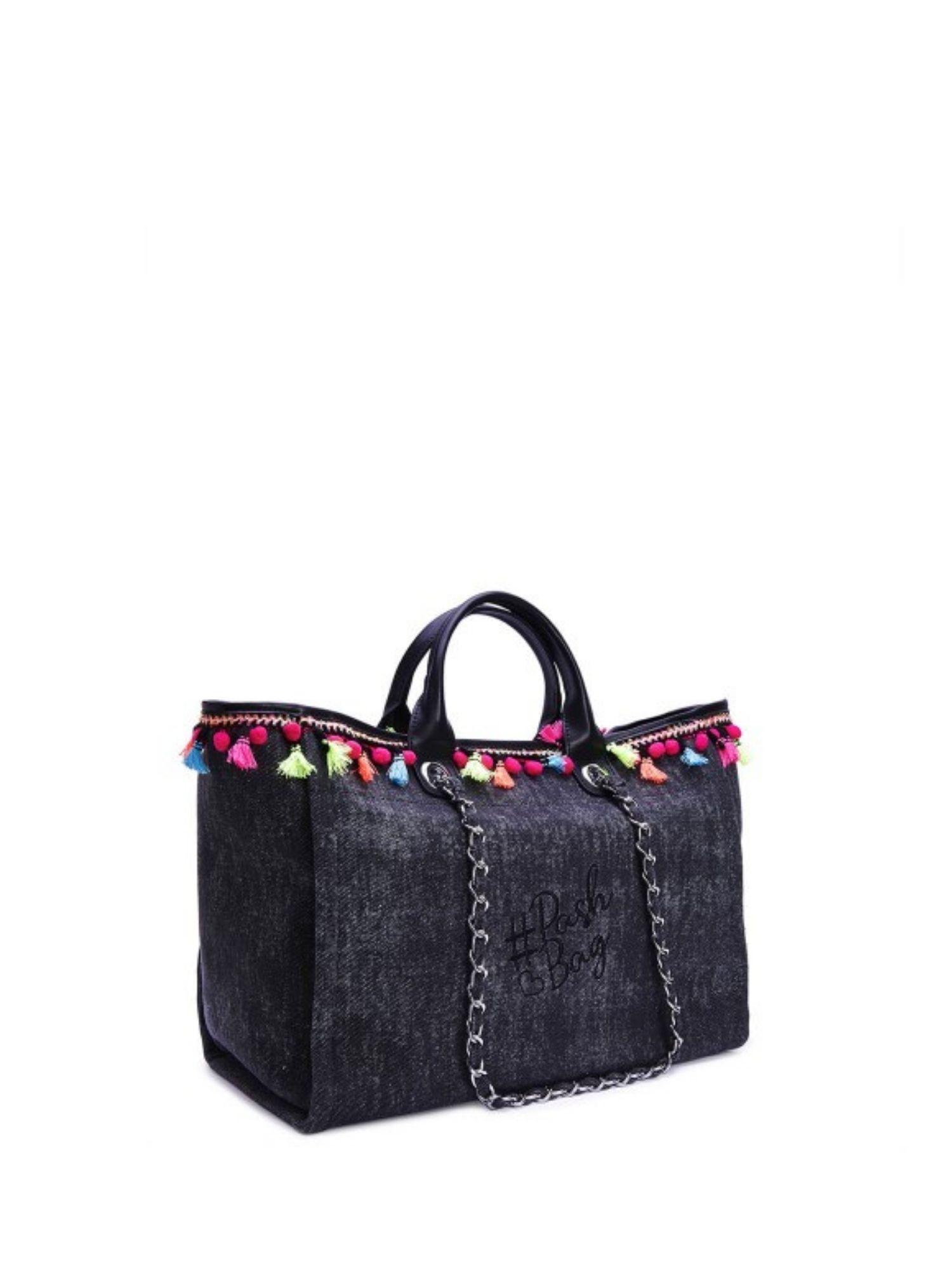 Borsa Atelier Du Sac Pash Bag 9802 Nero 1