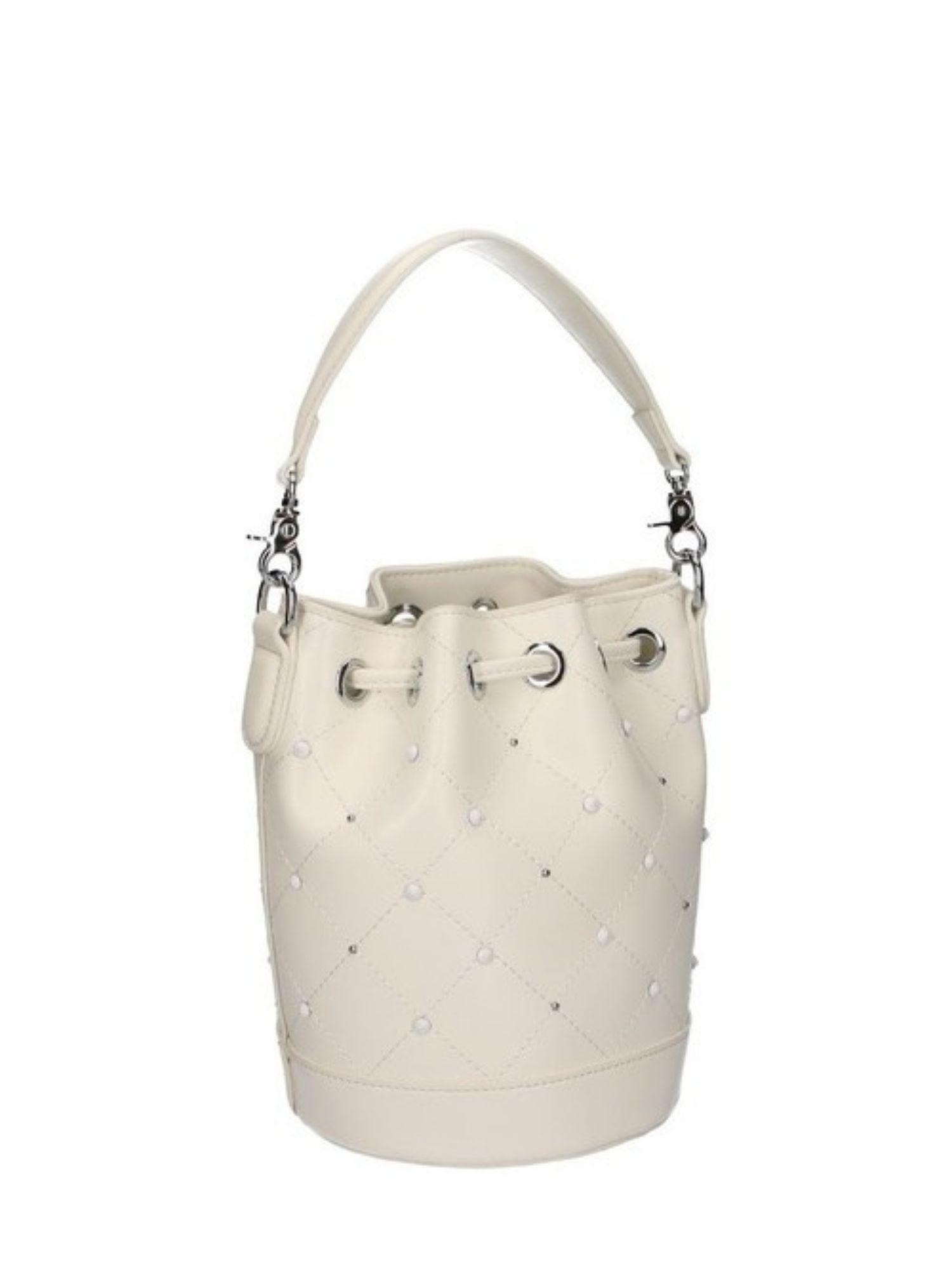 Borsa secchiello Atelier Du Sac Pash Bag 10964 Bianco 2