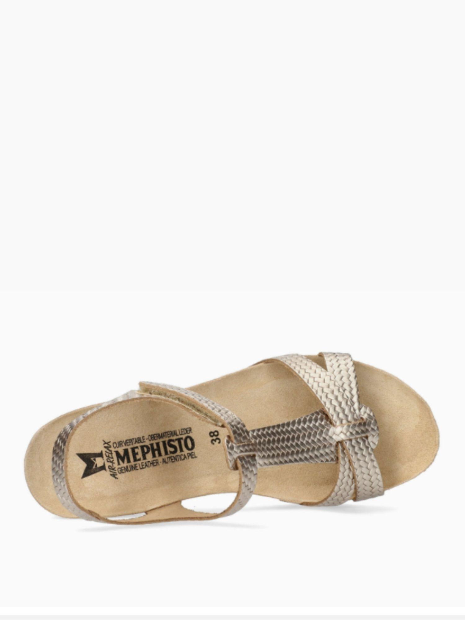Sandalo Mephisto Liviane Platinium 2 1