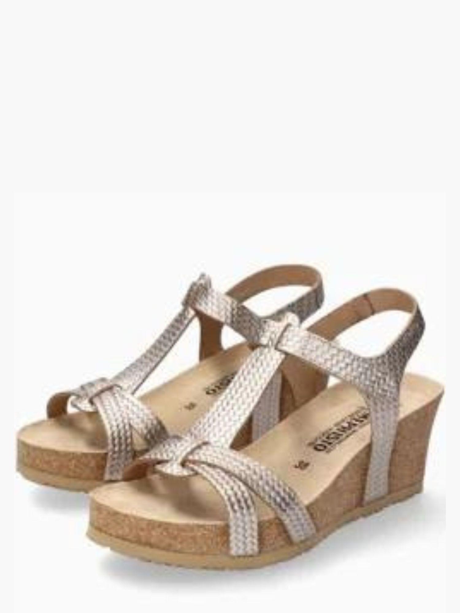 Sandalo Mephisto Liviane Platinium