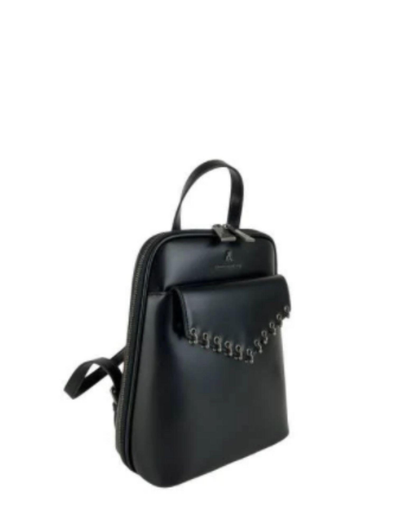 Zaino Atelier Du Sac Pash Bag 10916 Nero 2 1
