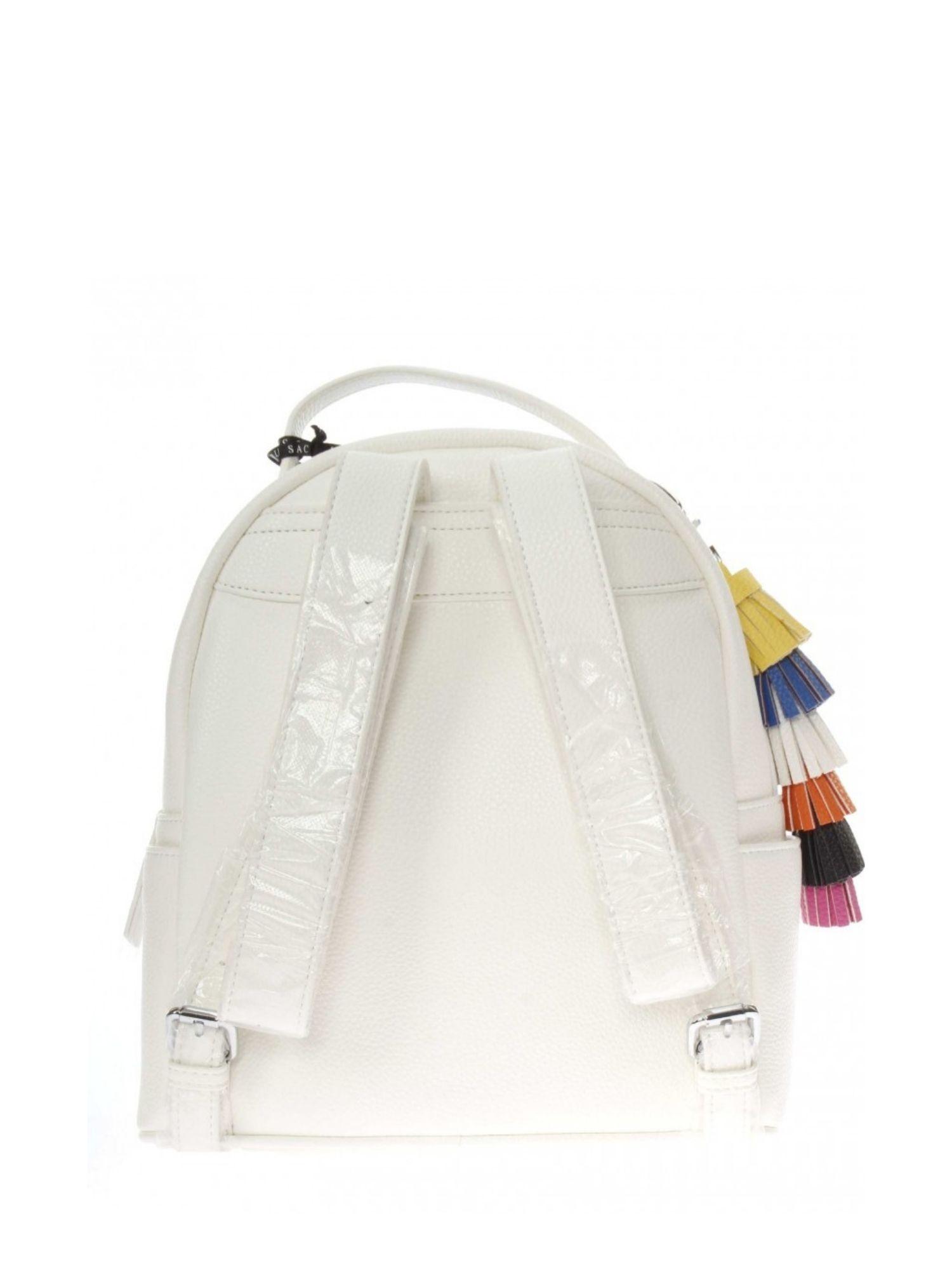 Zaino Pash Bag Atelier Du Sac 10796 Bianco ret 1