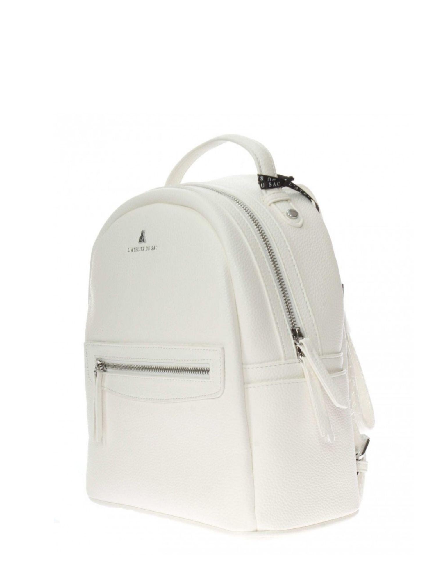 Zaino Pash Bag Atelier Du Sac 10796 Bianco ret 2